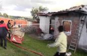 Çanakkale Bayramiç'te yangın