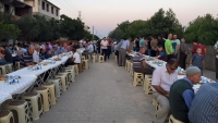 Bu yıl ramazan ayında düzenlenen mahalle iftarının 3.sü yapıldı
