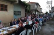 Köyümüzde Ramazan ayında düzenlenen mahalle iftarının 2.si yapıldı.