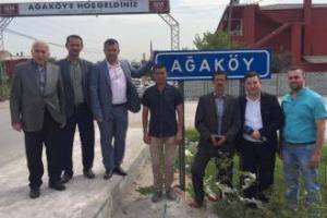 Ağaköy Köy Hayrı Yapıldı.