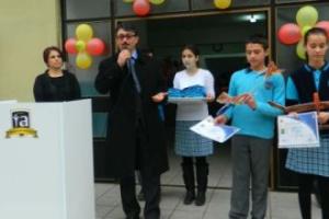 İdriskoru İbrahim Aydın Okulu Sertifika Töreni