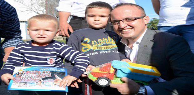 Milletvekili Bülent TURAN Ağaköy'de